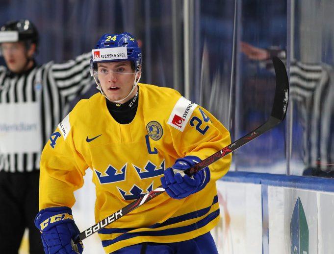 New York Rangers prospect Lias Andersson