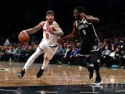 New York Knicks v Brooklyn Nets Postgame