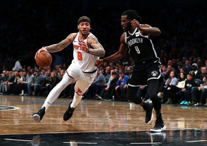 New York Knicks v Brooklyn Nets Postgame