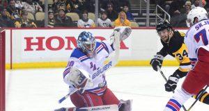 Henrik Lundqvist save vs Penguins