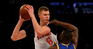 Kristaps Porzingis, Draymond Green, New York Knicks