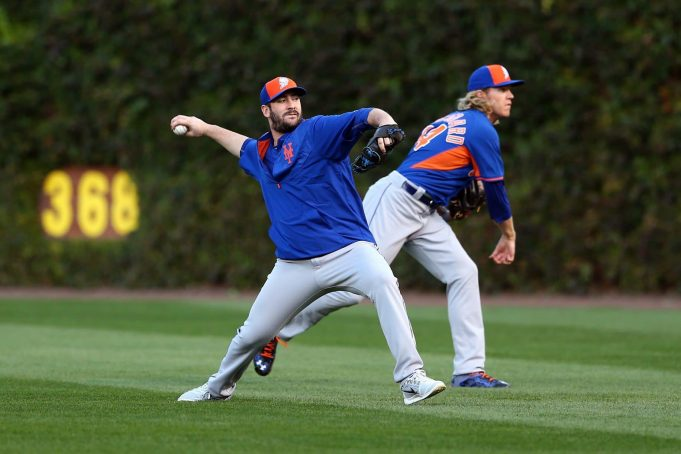Mets, New York Mets, Matt Harvey (L) and Noah Syndergaard