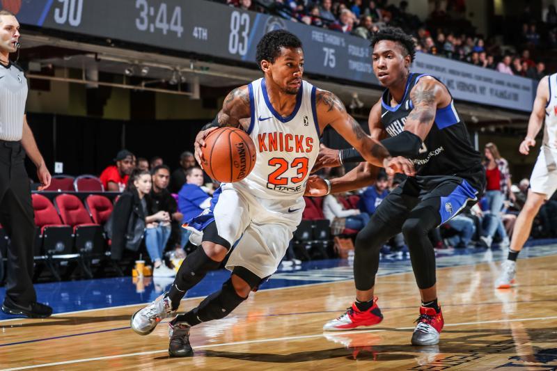 Trey Burke New York Knicks