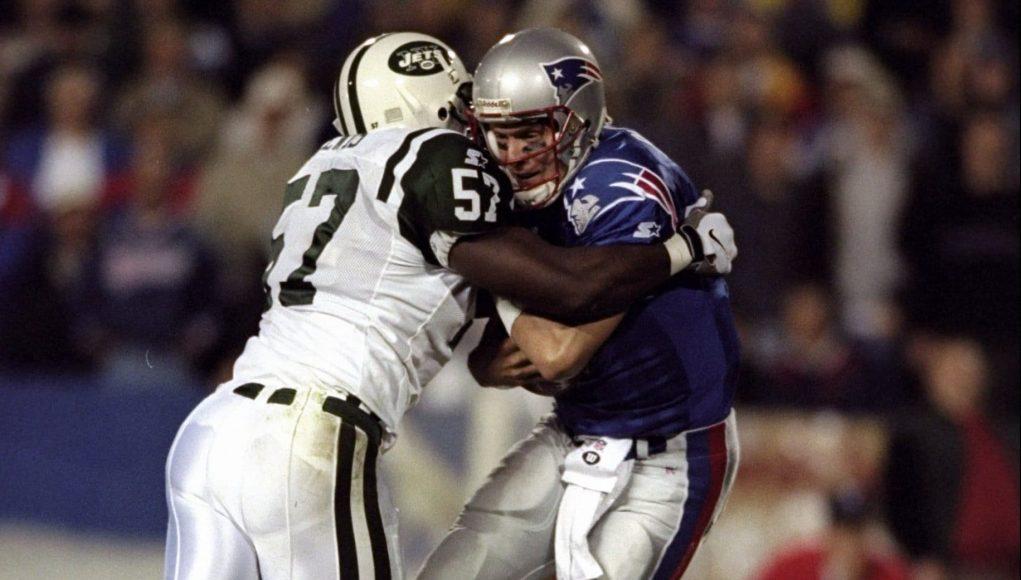 Mo Lewis Drew Bledsoe New York Jets