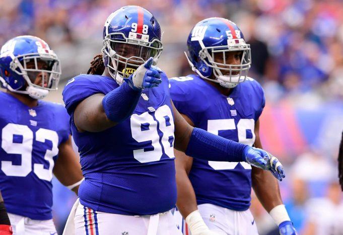Damon Harrison, New York Giants