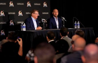 Derek Jeter, Miami Marlins Press Conference