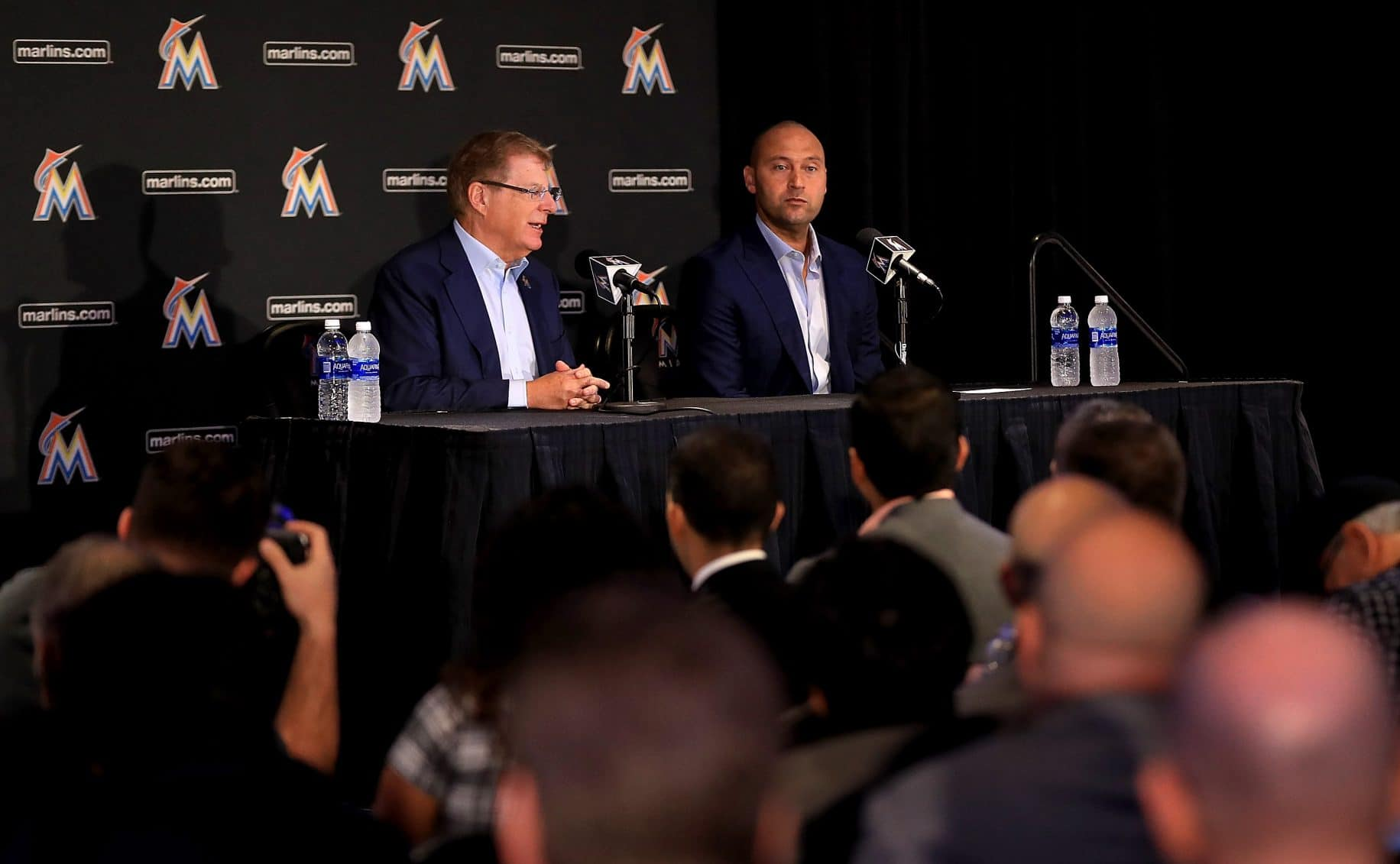 Derek Jeter, Miami Marlins Press Conference