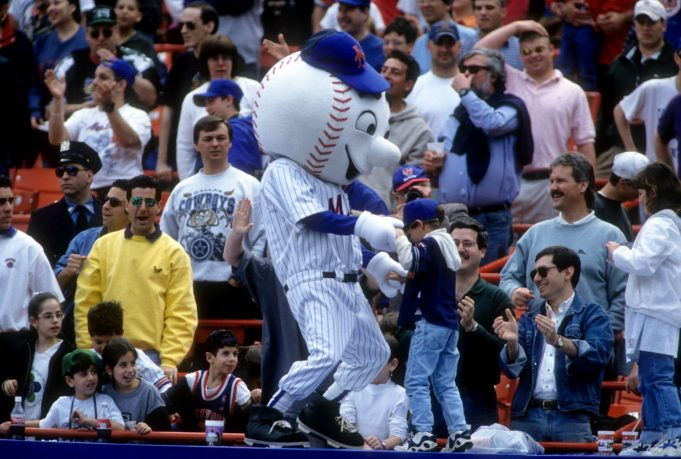 New York Mets Mascot, Mr. Met