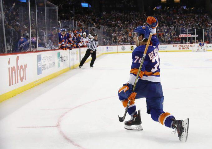 Anthony Beauvillier, New York Islanders, New Jersey Devils