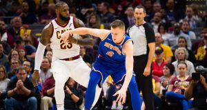 Kristaps Porzingis, LeBron James, New York Knicks