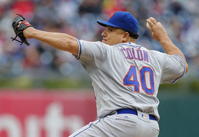 New York Mets Bartolo Colon