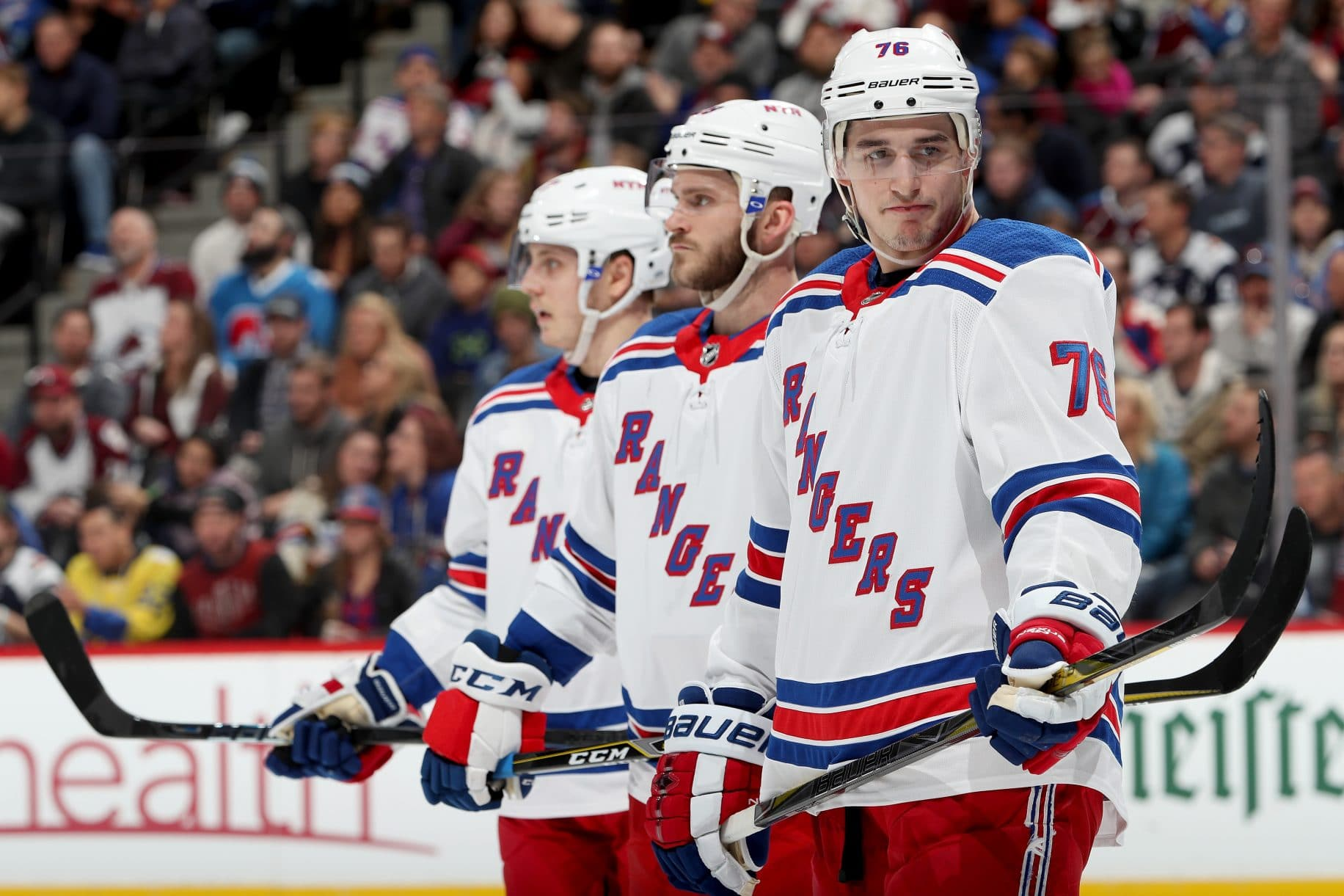 New York Rangers with a month to forget