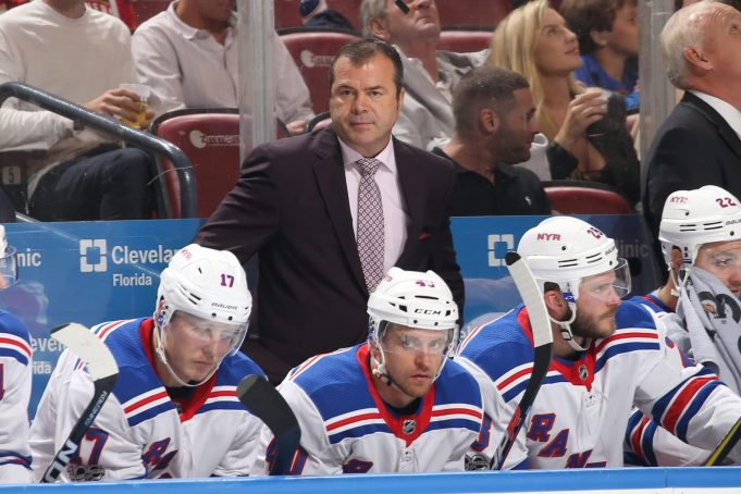 New York Rangers Alain Vigneault has a number in mind to make the playoffs