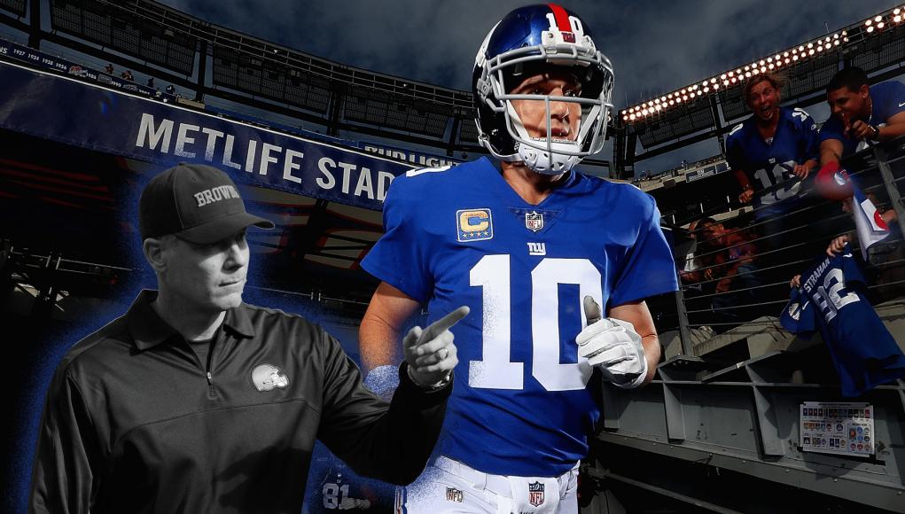 Pat Shurmur Eli Manning