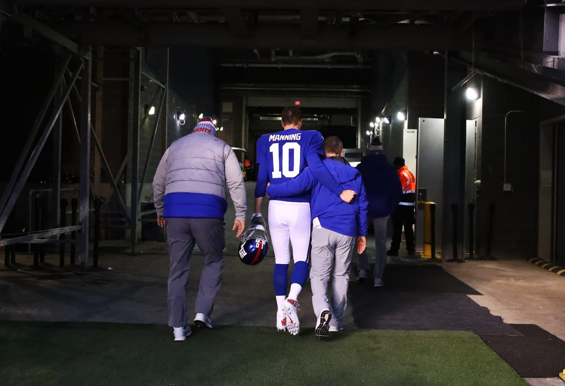 Eli Manning, Steve Spagnuolo, New York Giants