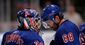 Jaromir Jagr, Henrik Lundqvist, New York Rangers