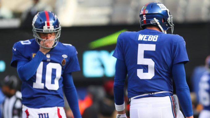 Eli Manning, Davis Webb, New York Giants