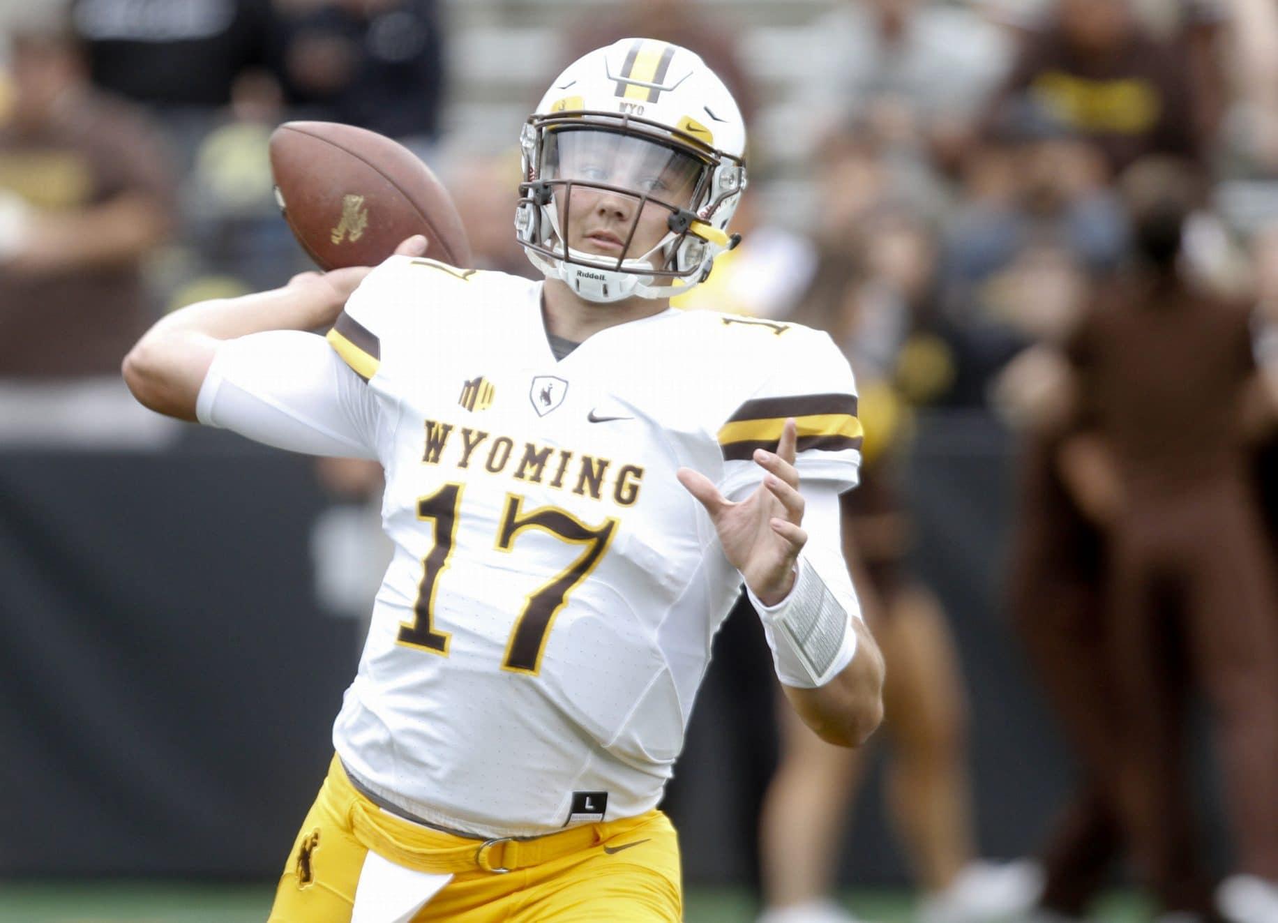 Wyoming Josh Allen New York Giants Senior Bowl