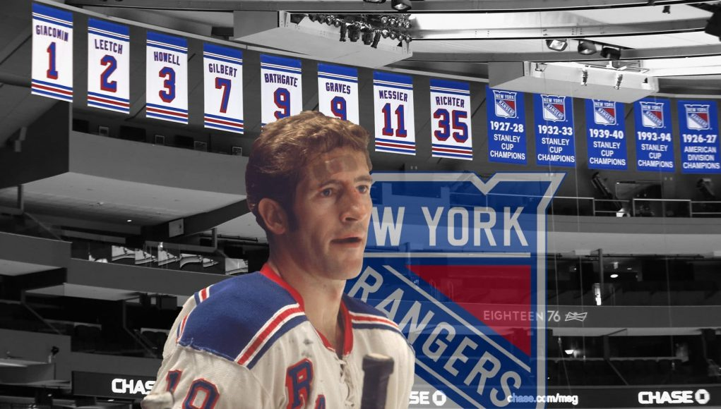 Jean Ratelle joins New York Rangers legends at Madison Square Garden