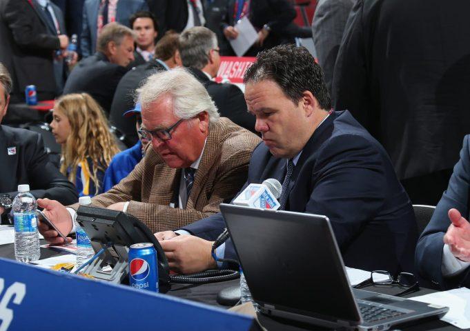 Jeff Gorton and Glen Sather