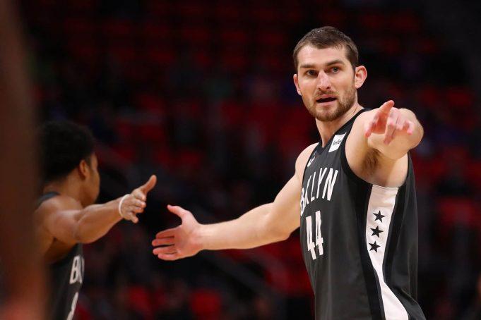 Tyler Zeller Brooklyn Nets