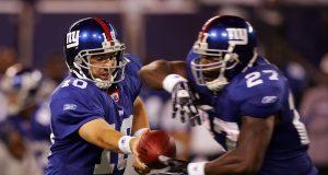 Eli Manning, Brandon Jacobs, New York Giants