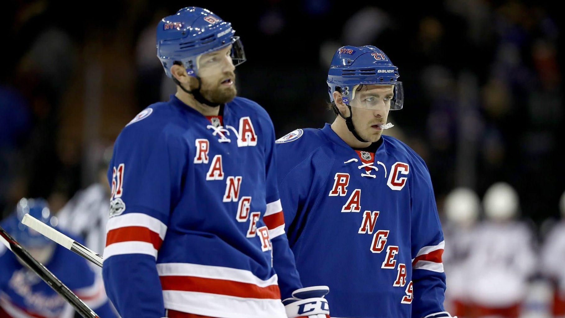 Rick Nash, Ryan McDonagh, New York Rangers