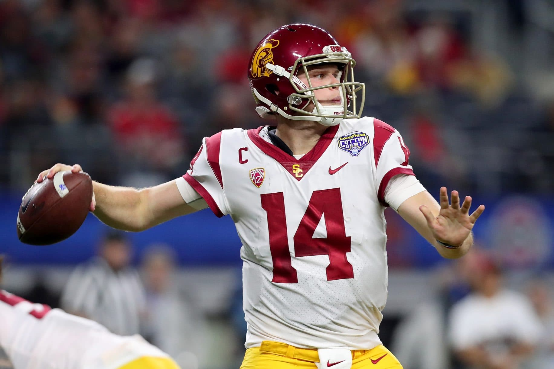 Sam Darnold says it would be amazing if Giants drafted him