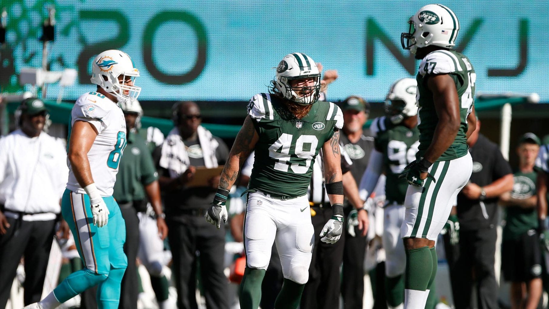 Jets LB Donahue charged with DWI after Lincoln Tunnel…
