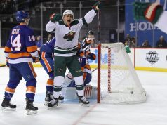 New York Islanders, Minnesota Wild, Barclays Center, Joel Eriksson Ek