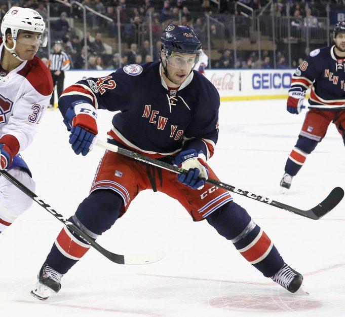 Brendan Smith, New York Rangers