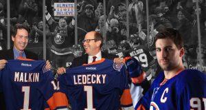 Jon Ledecky Scott Malkin New York Islanders