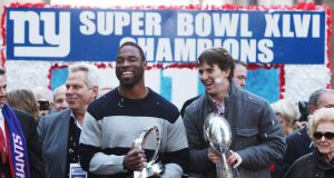 Justin Tuck, Eli Manning, New York Giants