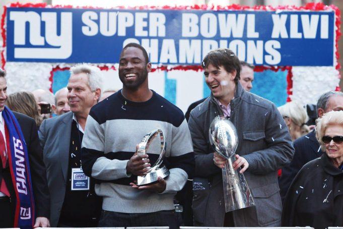 Justin Tuck, Eli Manning, New York Giants