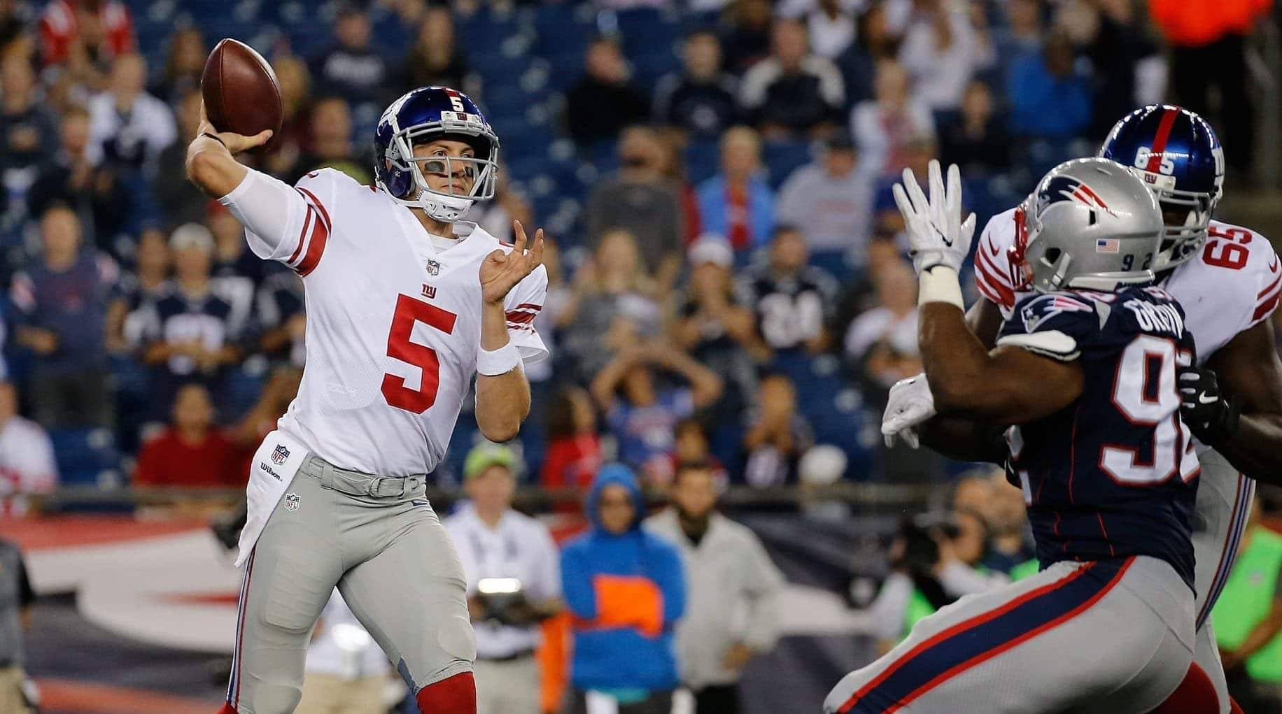 New York Giants Daily Davis Webb