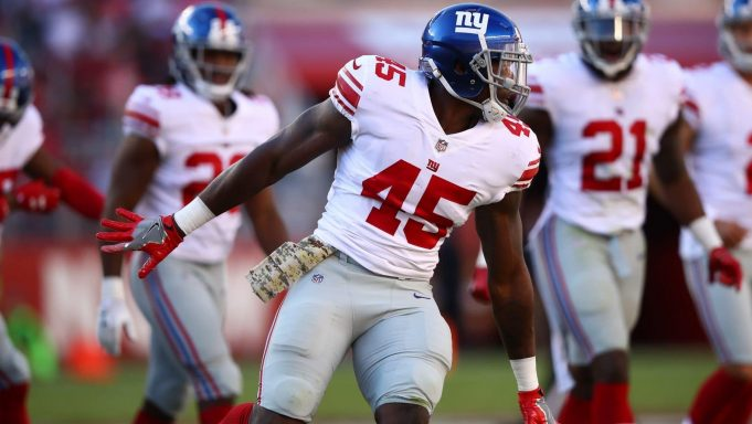 Deontae Skinner, New York Giants