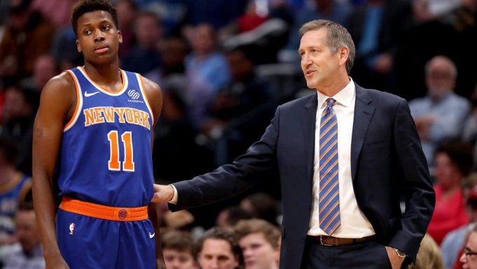 Frank Ntilikina, Jeff Hornacek, New York Knicks