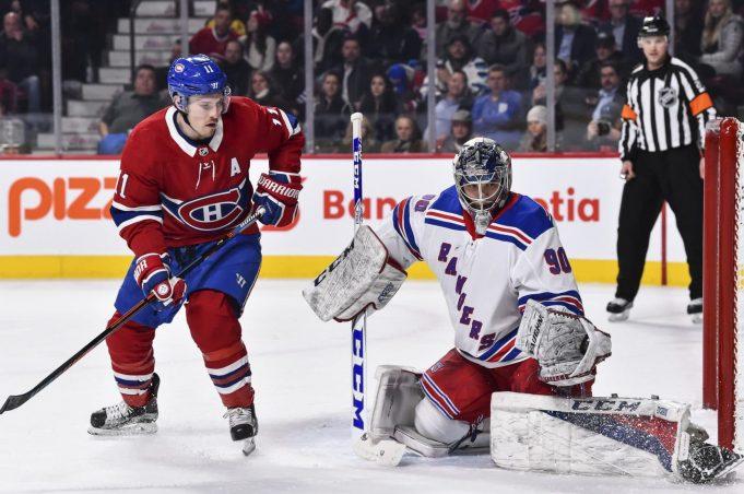 New York Rangers Alexandar Georgiev has strong debut