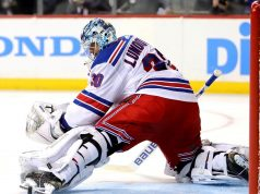 New York Rangers Henrik Lundqvist rest
