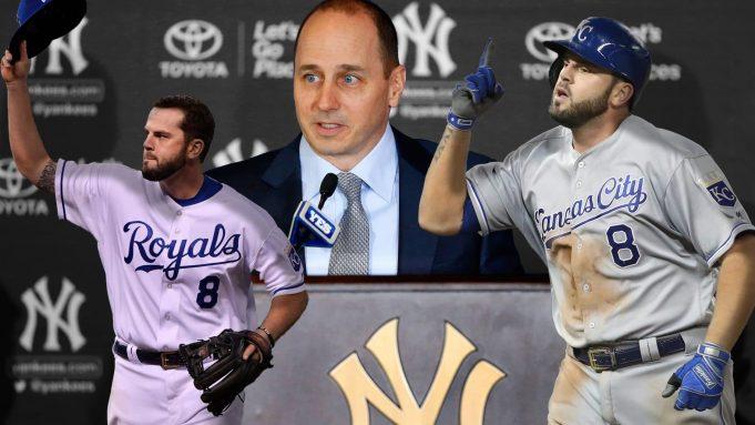 New York Yankees Mike Moustakas