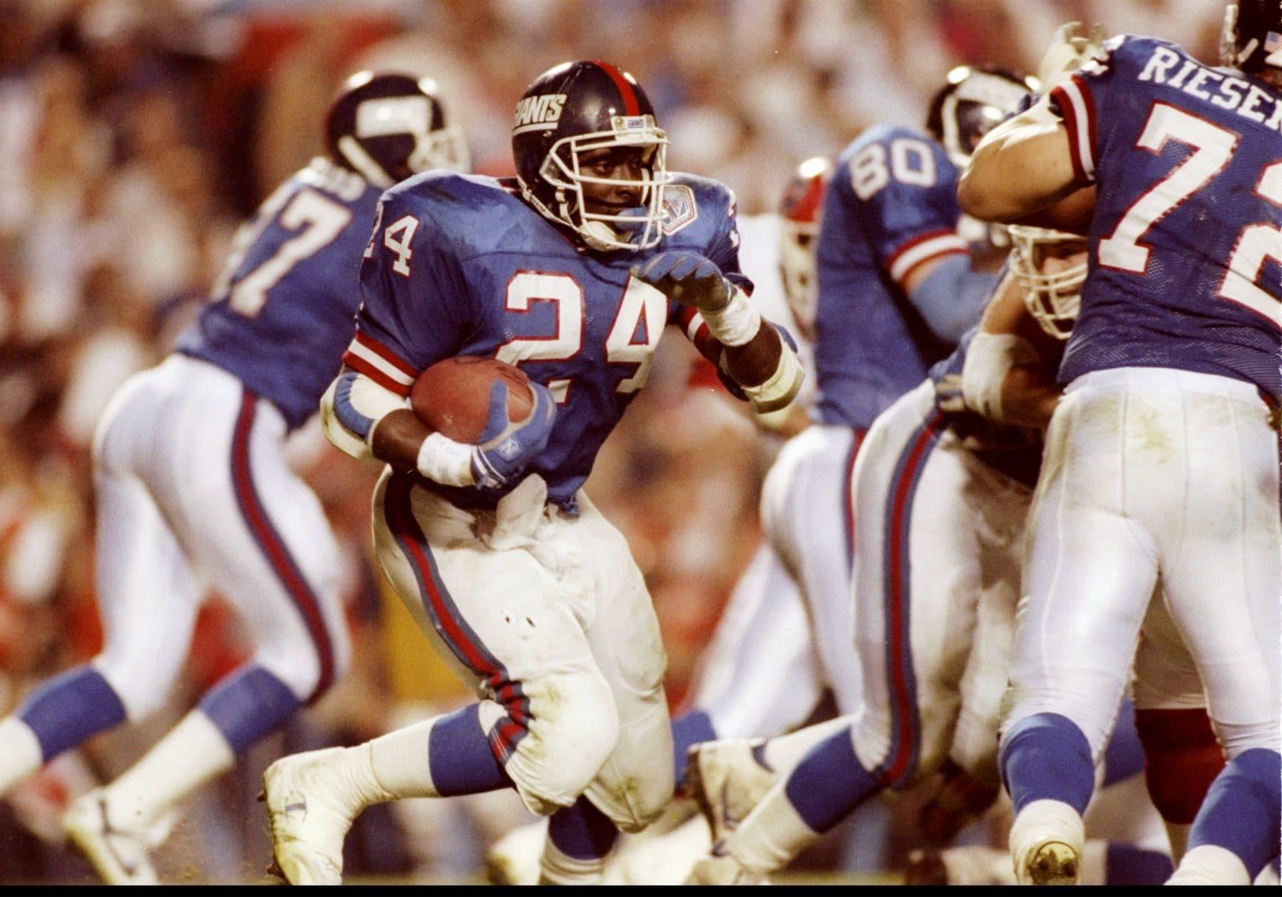 Ottis Anderson, New York Giants