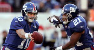 Eli Manning, Tiki Barber, New York Giants