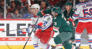 Rangers fall to Wild