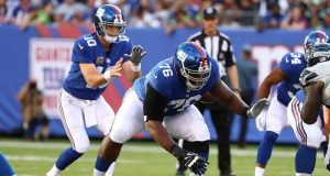 D.J. Fluker, Eli Manning, New York Giants