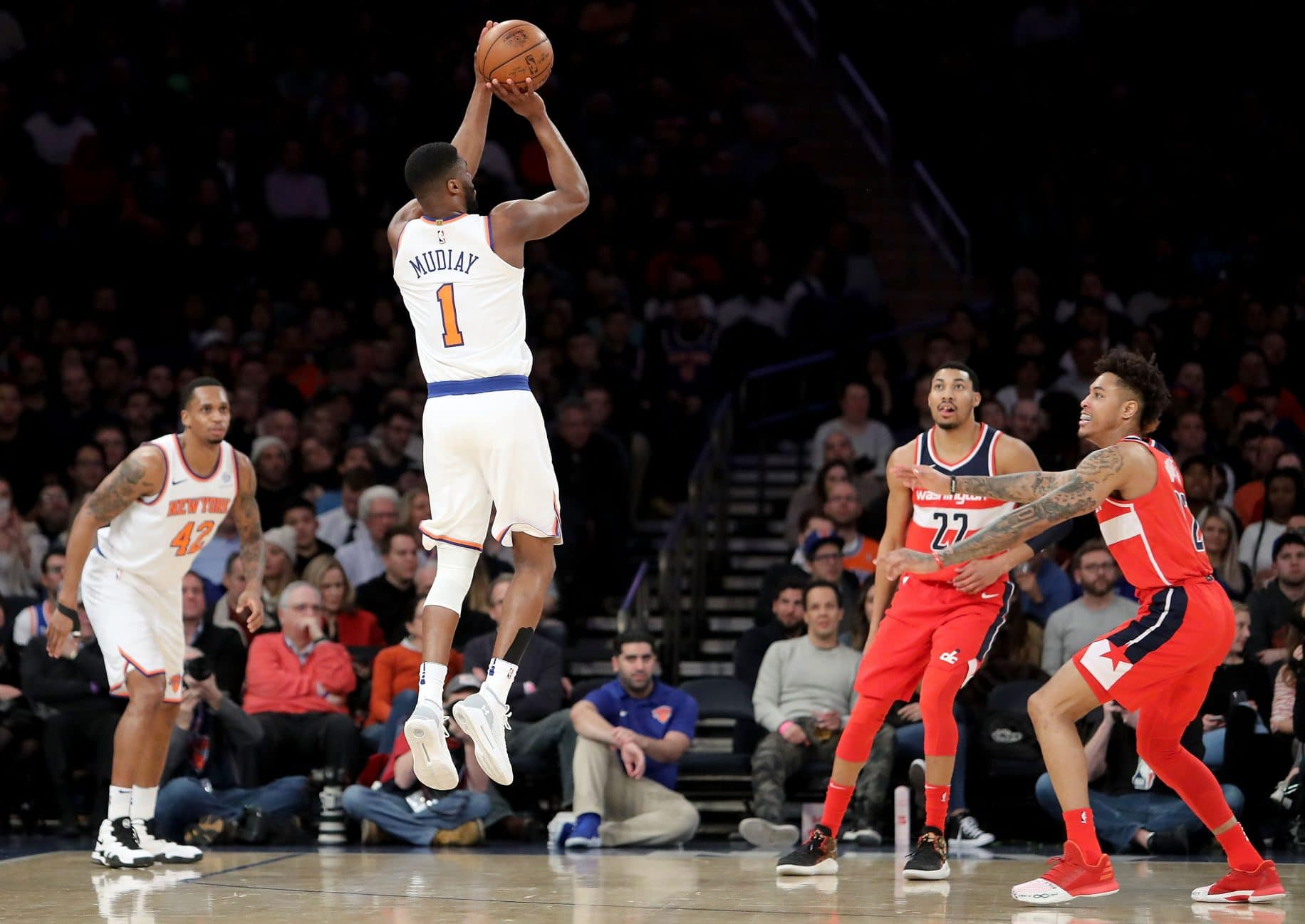 Emmanuel Mudiay, New York Knicks