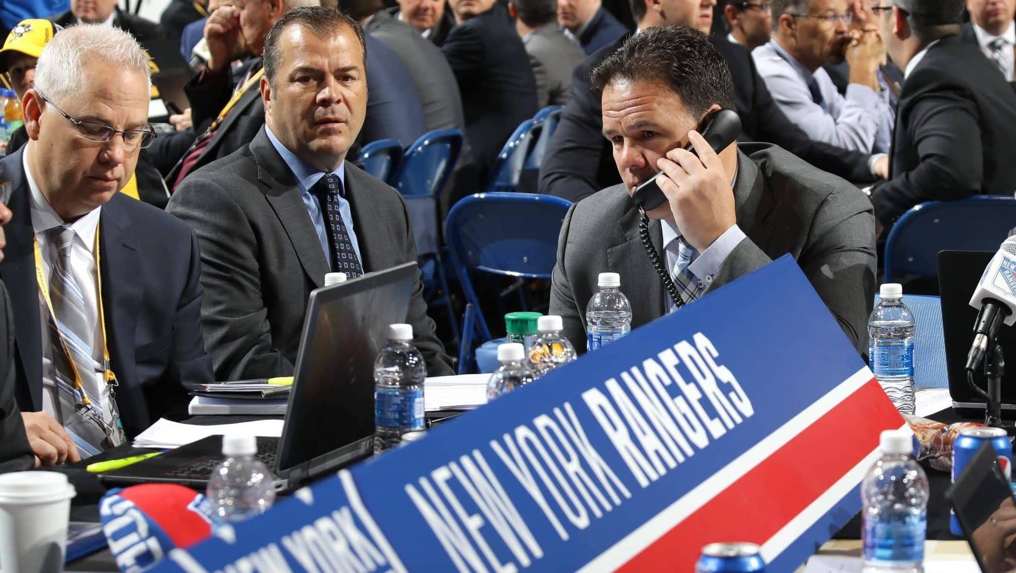 Jeff Gorton, New York Rangers