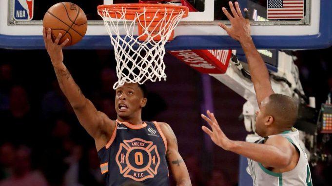 New York Knicks Troy Williams