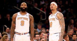 New York Knicks postgame