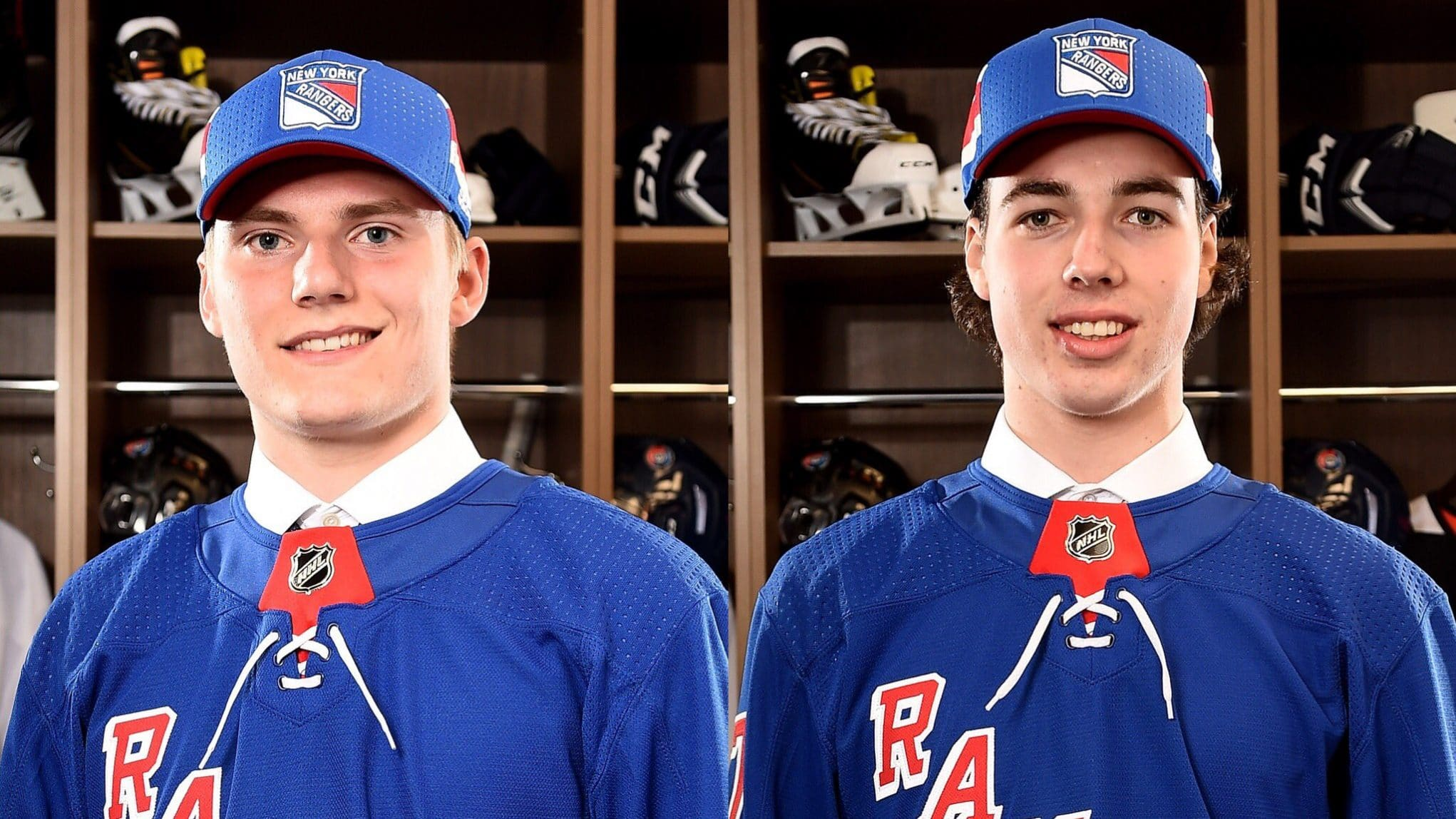 New York Rangers recall Lias Andersson and Filip Chytil from Hartford 441d57ff3