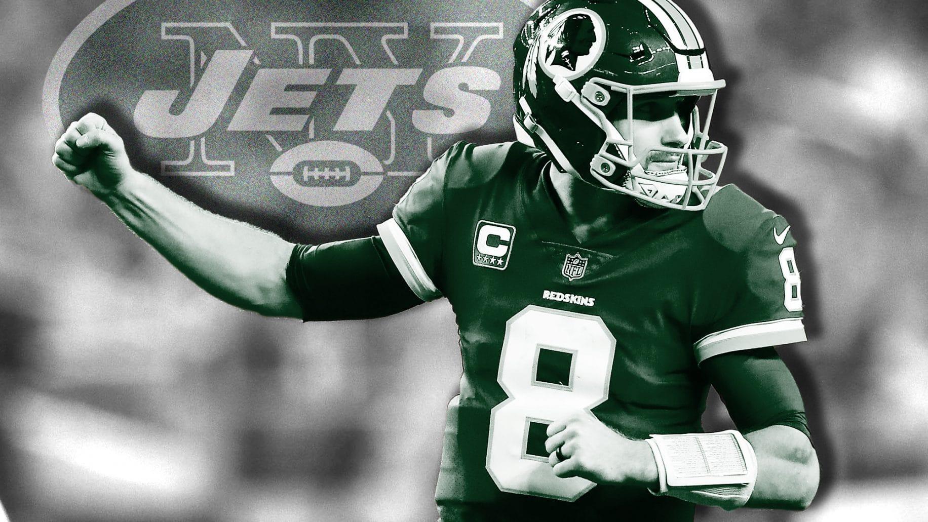 best website 83faf f9eaa New York Jets: Kirk Cousins won't work based on recent QB ...